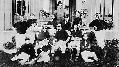 Arsenal FC Football Squad Team Photo 1888 Vintage, Reprint Photo 7x4 Inch