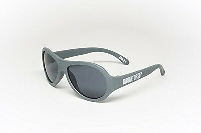 Babiators Aviator-Style Sunglasses, Galactic Grey Classic Babiators, 0-3 Years