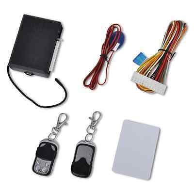 S# New Universal Car Central Door Locking Set 2 Remote Control Keys Security Sys