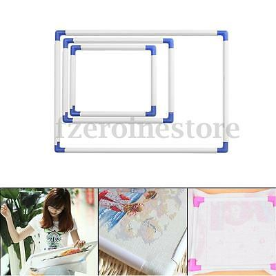 3 Size Universal Plastic Embroidery Frame Cross Stitch Hoop Sewing Craft Tool