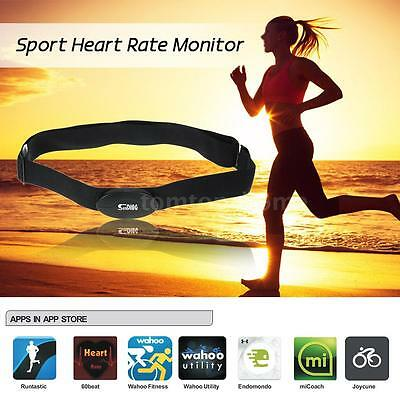 Bluetooth 4.0 Wireless Sport Heart Rate Monitor Chest Strap Band for iPhone R0X9