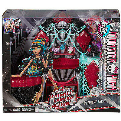 Monster High premiere party playset - Dressing table set - NEW IN BOX