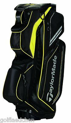 TAYLOR MADE Catalina Cartbag / Golfbag - Black / Yellow - NEU - UVP 229 € - SALE