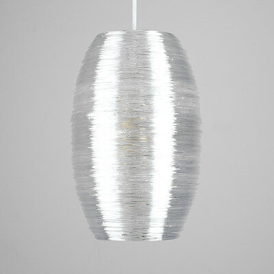 Modern Endon Clear Acrylic Non Electric Ceiling Pendant Light Shade Easy Fit