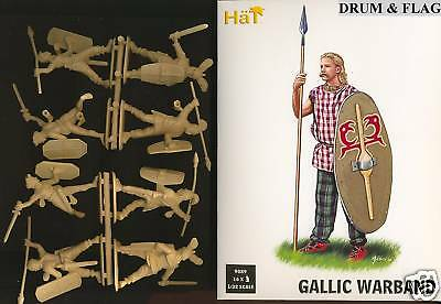 Hat 9089. Gallic Warband. 1/32 Scale Plastic Figures. 54Mm Ancient Celts Britons