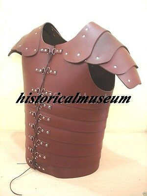 ARMOR ROMAN LEATHER LORICA HM719 Chestplate, Breastplate HALLOWEEN COSTUME