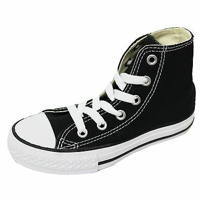 Converse Junior Trainers Chuck Taylor All Star Hi Black Sneakers