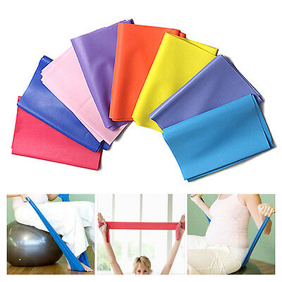 Resistance Bands GYM Exercise Pilates Yoga Dyna Workout Physio Aerobics Stretch