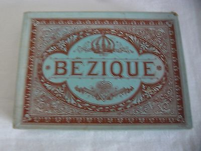 Antique Bezique French Playing Cards Unused