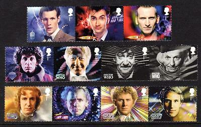 2013 GB DOCTOR WHO SG 2609 - 2619 Set of 11 MNH 1st Class