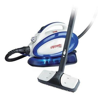 Polti Vaporetto Go Multi-Surface Steam Cleaner Rolling Canister PTNA0014 BLUE