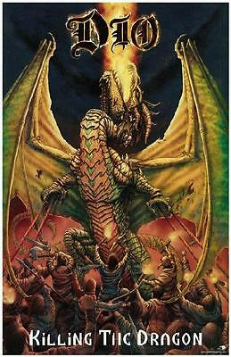 Dio  Killing The Dragon 2002 Promo Poster