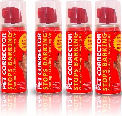 Pet Corrector Dog Training, 4 Pack Of 30ml, Stop Dog Barking Company of Animals