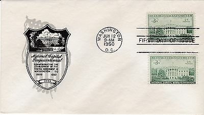 First day cover, Sc #990, Executive, Planty 990-18, Ioor cachet, 1950
