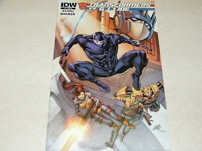 Transformers Vs GI Joe 1 RETAILER INCENTIVE VARIANT (IDW Comics) Jul 2014