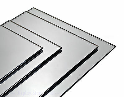 Mirror Acrylic Perspex Plastic Sheet Panel Custom Cut to Size (DSAM+)