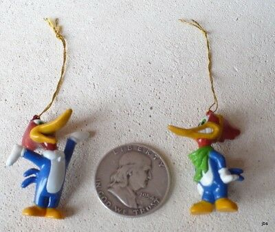 Woody Woodpecker 6 Miniature Ornaments New Walter Lantz Creator Woody Woodpecker