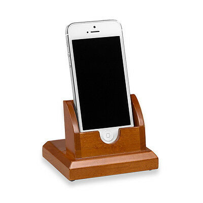 Levenger Cubi Tech Stand-Natural Cherry *unused*
