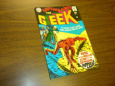 THE GEEK - BROTHER POWER #1 DC Comics 1968