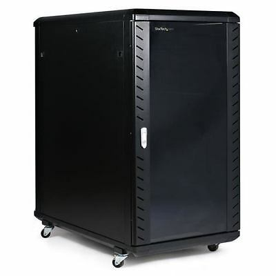StarTech.com RK2236BKF -  22U 36in Knock-Down Server Rack Cabinet with Casters