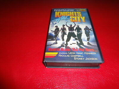 Knights of the City - Vhs - Leon Isaac Kennedy,  Nicholas Campbell