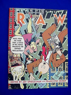 Read Yourself Raw Art Spiegelman & Francoise Mouly. 1st (Pantheon / RAW 1987)