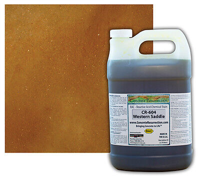 Concrete Resurrection RAC (Acid)Concrete Stain-Western Saddle - 1 Gallon