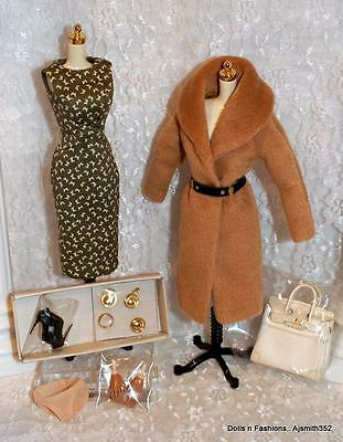 Fashion Royalty Doll Fine Print Elise Jolie Complete Fashion Set Only NO DOLL