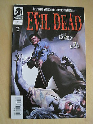 THe EVIL DEAD 4  by VERHEIDEN & JOHN BOLTON. VERY GORY ! DARK HORSE. 2008