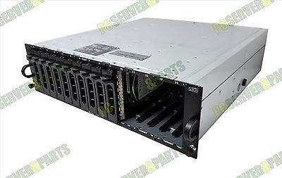 Dell PowerVault MD1000 SAS/SATA Storage Array 2x Controllers & PS 10x 750GB HDD