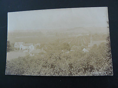 Knightwick Real Photo RP Postcard - Worcestershire - 1924
