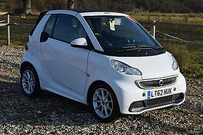 2012 SMART FORTWO CABRIO Passion mhd 2dr Softouch Auto [2010]