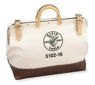 """Wide-Mouth Tool Bag,1 Pocket,16""""x6""""x14"""" KLEIN TOOLS 5102-16"""