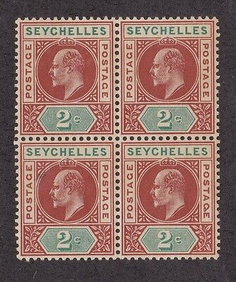 Kappysstamps Id3532 Seychelles #38 Mint Bk/4 Block Nh Never Hinged