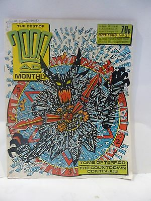 The Best Of 2000AD Monthly. 1988 number 37