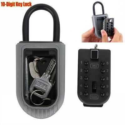 Outdoor High Security Key Safe Box Secure Keys Lock Holder Combination Home Car