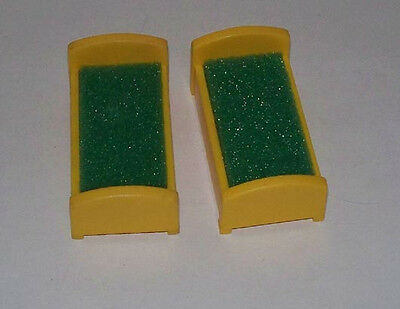 Two Twin Beds for #952 Little People Fisher Price Yellow
