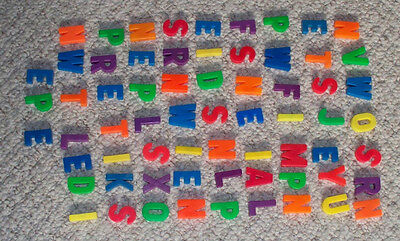 66 Alphabet Letters for #923 Little People School by Fisher Price