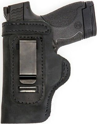 LT BLACK CUSTOM IWB Leather Holster YOUR CHOICE:rh,lh-laser-slide-cant-belt-mag+