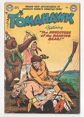 Tomahawk #24 (1950 Series) DC Comics May 1954 VG/FN