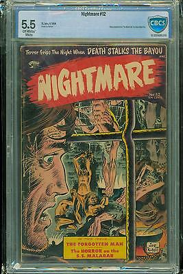Nightmare #12 [1954] Certified[5.5] Classic Cover