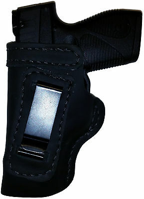 LT BLACK CUSTOM OWB Leather Holster YOUR CHOICE:rh,lh-laser-slide-cant-belt-mag+