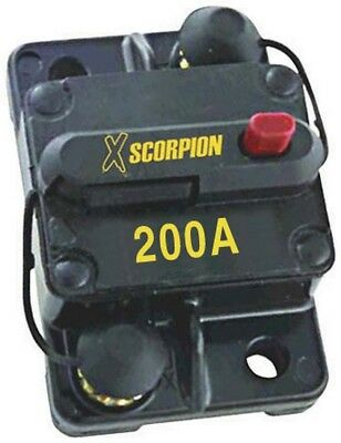 Xscorpion CB200A Manual Reset Circuit Breaker 200 Amp