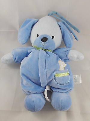 Carters Child of Mine Blue Dog Puppy Crib Plush Twinkle Twinkle