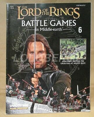 LORD OF THE RINGS Battle Games in Middle-earth Magazine Issue 6