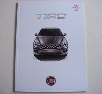 Fiat . Tipo . Fiat Tipo . September 2016 Sales Brochure