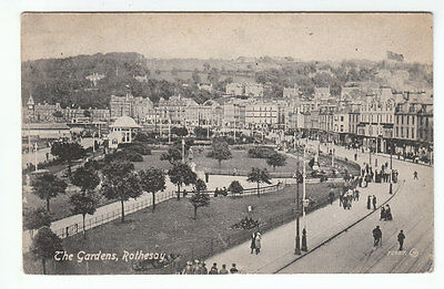 The Gardens Rothesay Isle Of Bute Photo Taken 1912 Posted 9 Jul 1921 Nicholson