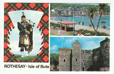 Rothesay Isle Of Bute Piper Esplanade Castle 5 Aug 1977 Phillips Houston Dalry