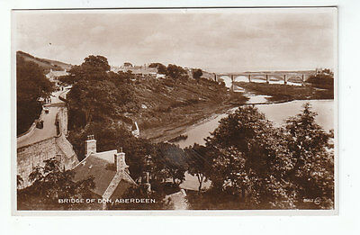 Bridge Of Don Aberdeen 1922 Real Photograph Posted 29 Jul 1949 Wilkie Blackness