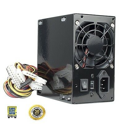 Logisys 480W Watt Black Beauty Power Supply 20+4-pin 2  ATX 2.03 w/ SATA  461*